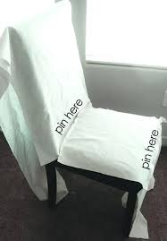 Cotton Dining Chair Covers Cotton Dining Chair Covers Slipcovers For Leather Parsons Chairs