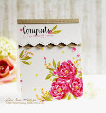 32 best scrapbooking pretty peonies cards images on pinterest
