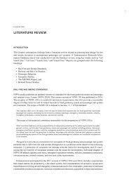 chapter two literature review planning and design for fire and
