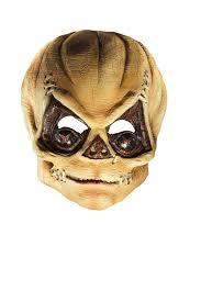 amazon com rubie u0027s costume trick r u0027 treat latex pumpkinhead mask