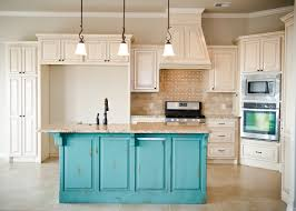 teal kitchen island trends including painting islands pictures