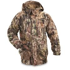 guide gear steadfast 4 in 1 hunting parka 150 gram thinsulate