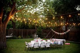 outside party lights ideas backyard party lights ideas lighting ideas
