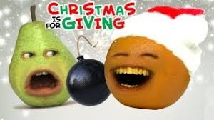annoying orange is for giving