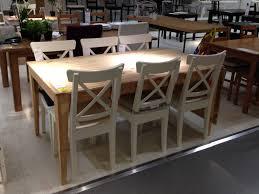 ikea table de cuisine ma sélection table à dîner en bois rectangulaire pieds tournés rétro