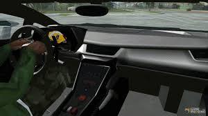 Lamborghini Veneno Dashboard - lamborghini veneno white black 2014 for gta san andreas