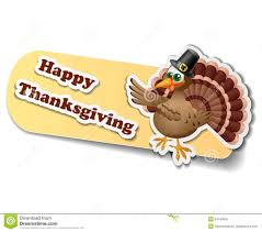 thanksgiving stickers with happy thanksgiving
