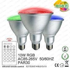 heat generating light bulbs 10w rgb spotlight e27 e26 par30 led bulbs light dimmable bulb l