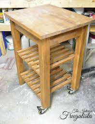 kitchen butcher block island ikea ikea bekvam kitchen cart with food safe wooden top the interior