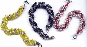 seed bead bracelet easy enough for kids