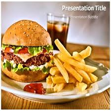 Amazon Com Junk Food Powerpoint Junk Food Powerpoint Templates Fast Food Ppt