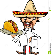 cartoon sombrero thumbs dreamstime com z chef mexicain avec l illustration de bande