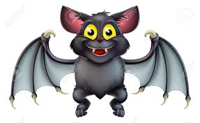 cute happy halloween clipart an illustration of a cute happy cartoon halloween bat character