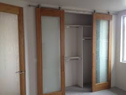 Closet Door Options Furniture Frosted Glass Sliding Closet Door Options Near Small