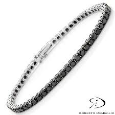black bracelet white gold images 24 best ladies bracelet images diamond tennis jpg