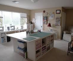 Commercial Fabric Cutting Table Sewingroom2 Hollow Core Doors Ikea Shelves And Sewing Rooms