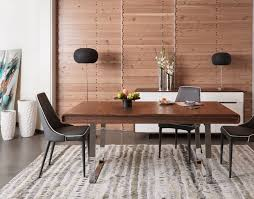 modern wood large modern wood finish dining table