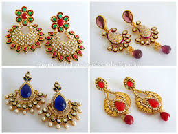 gold earrings online 2015 gold plated jhumka earrings wholesale south indian gold