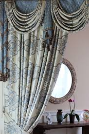 persian dance mix match swags valance curtain set with spiral tails