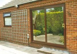 Brown Patio Doors Upvc Door Styles Patio Folding South Lakes Windows