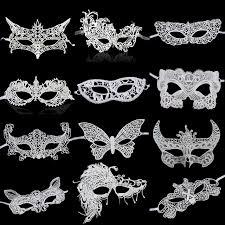 wholesale masquerade masks wholesale 1 pcs white lace masks lace half party