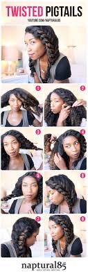 hairstyles for natural black girl hair 20 easy no heat summer hairstyles for girls with natural black hair
