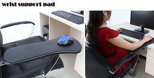 Computer Desk Arm Support Buy The Office Computer Table Desk Chair Wrist U0026 Forearm Rester