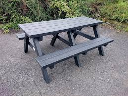 Picnic Benches For Schools Picnic Table Recycled Plastic Irish Recycled Products