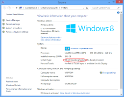 windows 8 explorer how to tell if my windows is 32 or 64 bit winability software