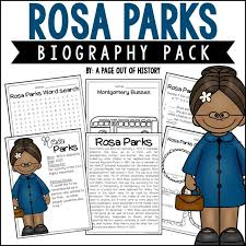 best 25 rosa parks biography ideas on pinterest civil rights