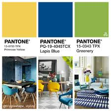 pantone colors 2017 lapis blue u0026 greenery with a touch of primrose