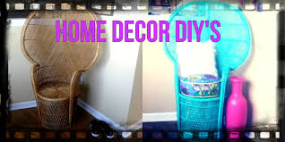 Home Decor Peacock by Home Decor Diy Peacock Chair How I Style Around It Youtube