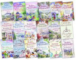 debbie macomber 18 books set cedar cove blossom cedar cove