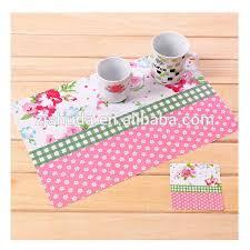 large plastic table mats flower pattern pp placemats plastic dining table mats buy dining