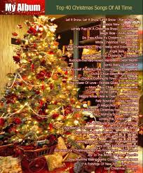 top 40 christmas songs of all time youtube