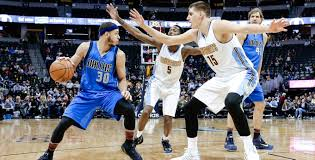 nuggets hoping an adjustment to their pick and roll defense
