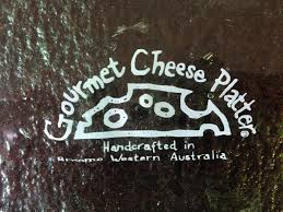 melted wine bottle platter cheese platter melted wine bottle handcrafted in broome western