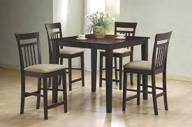 coaster table and chairs 5 piece pub dining table and chairs by coaster 150041 furniture