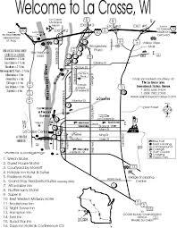 Lacrosse Wisconsin Map by Varsity Dance