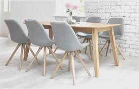 dining room fresh grey fabric dining room chairs artistic color