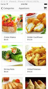 application android cuisine restaurant ionic application ionic marketplace