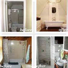 Before And After Bathrooms Bathrooms Before And After Bathroom Design Ideas Old House Before