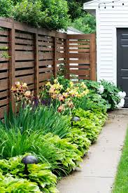 appealing front yard privacy fence ideas pictures decoration ideas