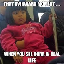 Real Life Memes - dora in real life memes quickmeme