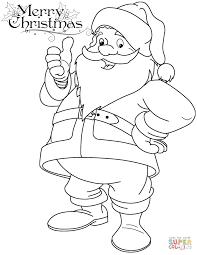 coloring pages to print of santa santa claus coloring pages funny page free printable ribsvigyapan