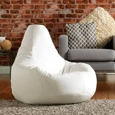 Large Bean Bag Chairs Buy Gaming Bean Bag Chair In Faux Leather Beanbag Bazaar