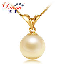 natural necklace pearl images Daimi akoya pearl necklace 100 natural gold pearl pendant jpg