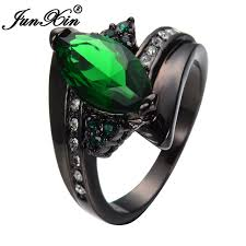 aliexpress buy junxin new arrival black aliexpress buy junxin black gold filled green eye