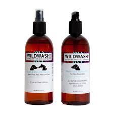 wildwash flea shampoo for dogs delivered by healthful pets