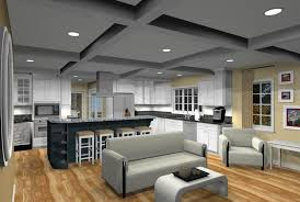open floorplans entranching open floor plan kitchen designs addition with in